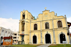 St. Peter's Church. The St. Peter's Church is a church in Malacca City, Malacca, Malaysia. It is the oldest functioning Roman Catholic Church in Malaysia Royalty Free Stock Image