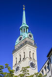 St. Peter's Church, Munich, Bavaria, Germany Royalty Free Stock Photos
