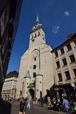 St Peter's church in Munich, Germany Royalty Free Stock Images