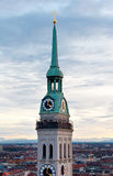St. Peter's Church, Munich Stock Photography
