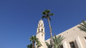 St. Peter`s Church in Old Jaffa Tel-Aviv-Yafo, Israel Royalty Free Stock Photos