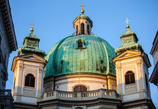 St. Peter's Church (Peterskirche) Royalty Free Stock Images