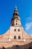 St. Peter's Church, Riga Royalty Free Stock Image