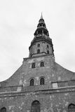 The St. Peter's Church in Riga. Stock Images