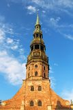 St. Peter's Church, Riga Royalty Free Stock Photo