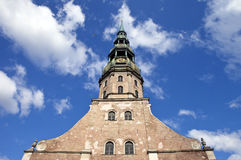 St. Peter's Church in Riga Stock Image