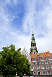 St. Peter's Church in Riga Royalty Free Stock Photos