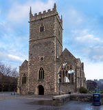 St Peter& x27;s church. Ruins of St Peter& x27;s church in Bristol& x27;s castle park Stock Photography