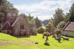 St Peter's Church Stourhead and Pantheon Royalty Free Stock Photography