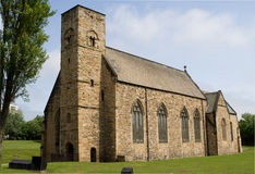 St Peter's Church, Sunderland. Founded in AD 674, the church is to be the UK's nomination for UNESCO World Heritage Site status in 2010. It was also the Royalty Free Stock Images