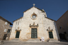 St. Peter's Church in Supetar Royalty Free Stock Photography
