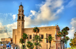 St. Peter's Church in Tel Aviv-Jaffa Royalty Free Stock Photography