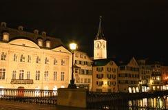 St. Peter's Church tower in Zurich Stock Photos