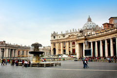 St. Peter's Church, Vatican Stock Photos