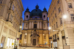 St. Peter's Church in Vienna Stock Images
