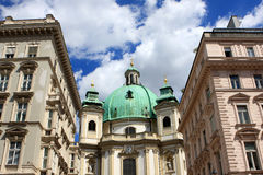 St. Peter`s Church, Vienna Stock Photography