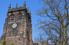 St. Peter's Church in Woolton, Liverpool Stock Photos