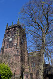 St. Peter's Church in Woolton, Liverpool Stock Images