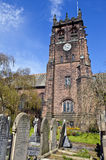 St. Peter's Church in Woolton, Liverpool Royalty Free Stock Photo