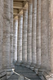 St. Peter's colonnade Royalty Free Stock Images
