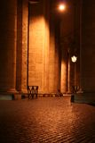 St. Peter's Colonnade Night Royalty Free Stock Photos