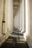 St Peter's colonnade Stock Images