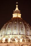 St. Peter's Dome / Night Stock Photo