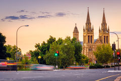 St- Peter` s Kathedrale in Adelaide Stockbilder
