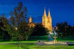 St- Peter` s Kathedrale von Adelaide Lizenzfreies Stockfoto