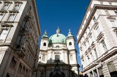 St Peter& x27; s Kerk - Wenen - Oostenrijk Royalty-vrije Stock Foto's