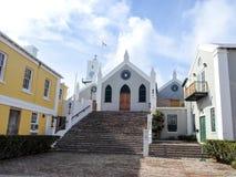 St Peter& x27; s kościół, St George& x27; s Bermuda Zdjęcia Royalty Free