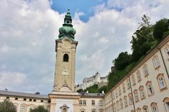 St. Peter's Monastery, Salzburg Royalty Free Stock Images