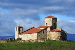 St Peter`s and Paul`s church, Novi Pazar Stock Images