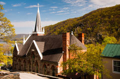 St. Peter's Roman Catholic Church, Harper's Ferry, West Virginia Stock Photography