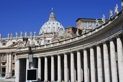 St. Peter's, Rome Stock Image