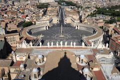 St. Peter's - Rome Royalty Free Stock Photography