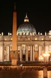 St. Peter S (Rome-Italy)Night Stock Image