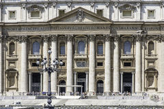 St. Peter's Squar, Vatican, Rome Stock Photo