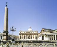 St. Peter's Squar, Vatican, Rome Royalty Free Stock Images
