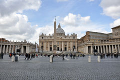 St. Peter's Square Royalty Free Stock Photo