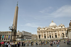 St. Peter's Square Royalty Free Stock Photography