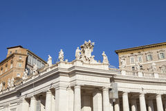 St. Peter's square Stock Photo