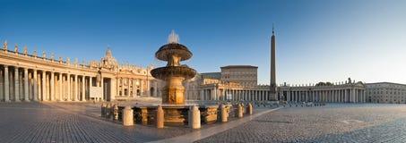 St Peter's Square, Piazza San Pietro, Vatican City, Rome Stock Photo