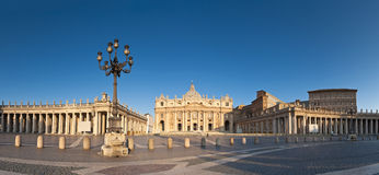 St Peter's Square, Piazza San Pietro, Vatican City, Rome Royalty Free Stock Images