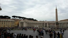 St. Peter`s Square Stock Images