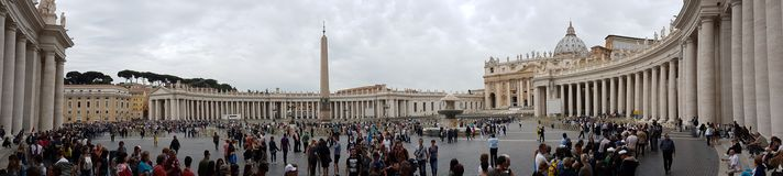 St. Peter`s Square Royalty Free Stock Images
