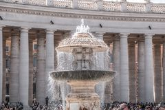 Free St. Peter`s Square, Vatican Stock Photography - 156816892
