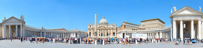St. Peter S Square, Vatican Royalty Free Stock Images