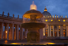 St Peter's Square - Vatican City Stock Images