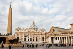 St. Peter's square, Vatican city Stock Photography